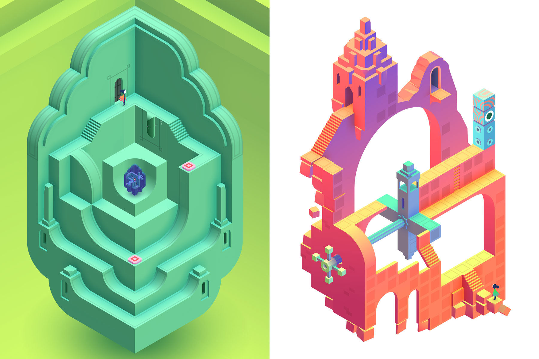 Sequel To Acclaimed Indie Game Monument Valley Out Now
